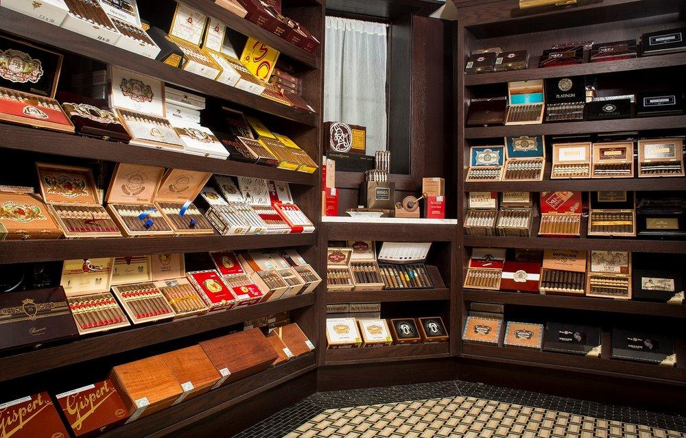 Biggs Mansion cigars