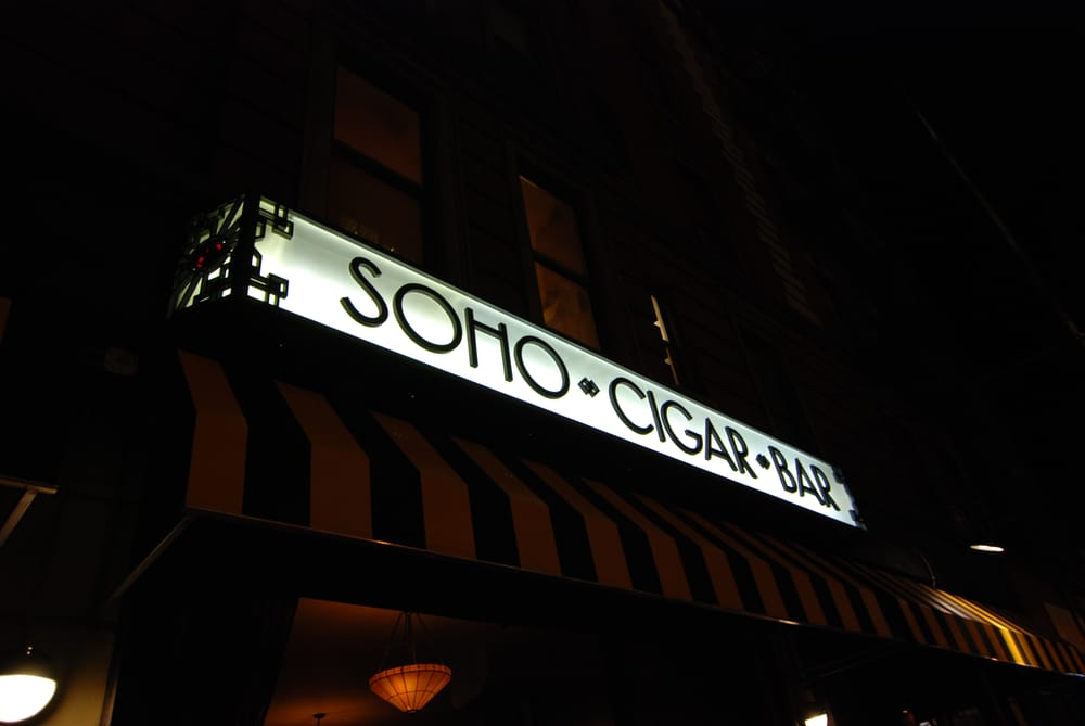 SoHo Cigar Bar storefront
