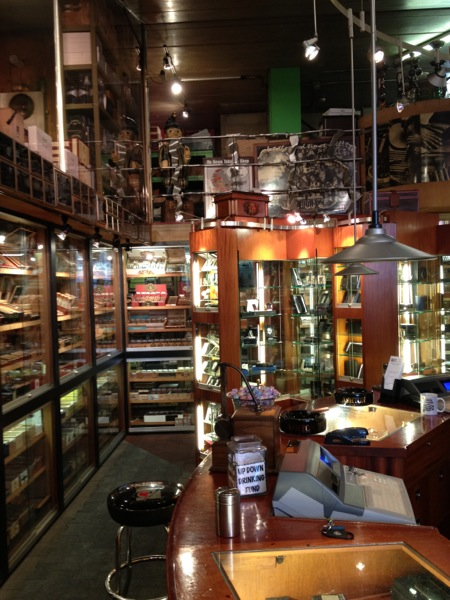 updown cigar interior